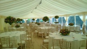 Wedding reception near Cowbridge
